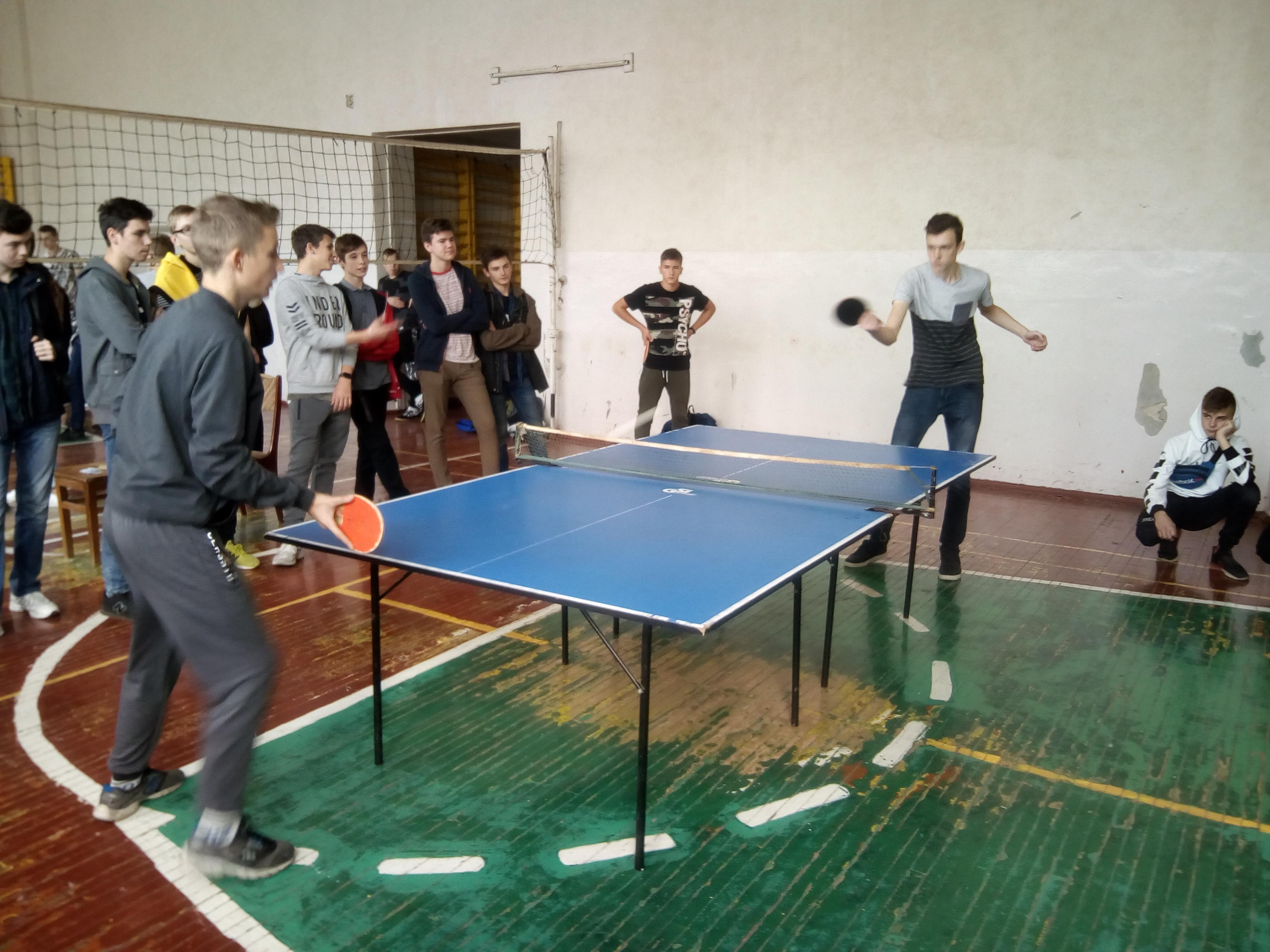 У ХКТК пройшла першість з настільного тенісу