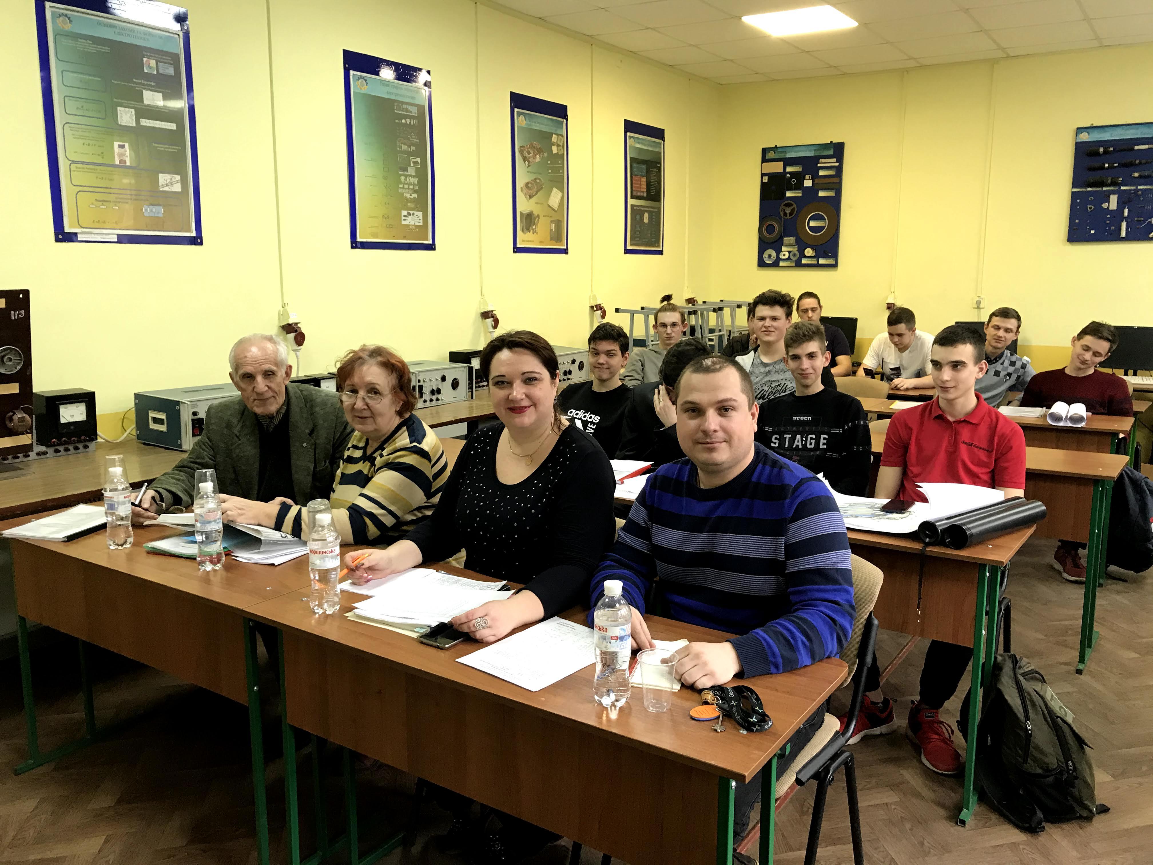 Захист курсових робіт студентів групи ПТ-317