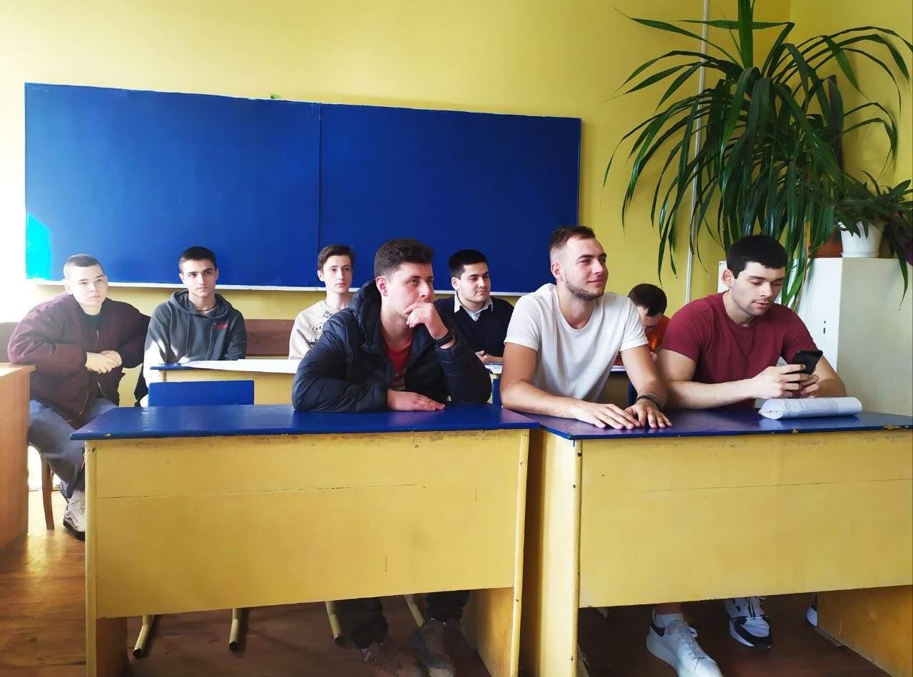 Захист курсових робіт студентів групи ЗА-317